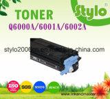 Cartucho de tóner de color Laserjet Q6000A para HP 1600/2600/2605 en el precio de fábrica