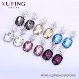 Последняя разработка Xuping Platinum покрытием кристаллов с кристаллами Swarovski Gold Drop серьги