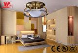 水晶リングの装飾が付いている新しい設計されていた天井灯