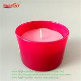 Suporte de vidro cristal decorativos rosa vela para casamento