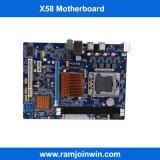 O melhor LGA1366 cartão-matriz de venda X58 do soquete DDR3 China para o server