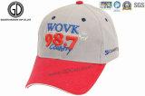 Comercio al por mayor o Personalizado 6 Panel bordados Sport Hat / Gorra de béisbol