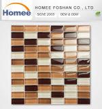 Azulejo de mosaico de cristal de la tira barata de la alta calidad para la decoración de la casa