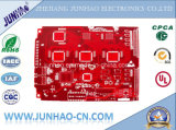 Red Msak 2 Layer PCB com placa PCB Double-Side FR4