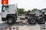 トラクター30トンのHOWO 6X4 10の荷車引きのSinotrukのかタクシーのトラックのトレーラーヘッド