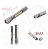 Laut summende Aluminium-LED-Taschenlampe (15-1H1704 2AAA)