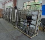 agua potable de la unidad de la filtración del agua del RO 4000lph que hace la máquina con el filtro del manganeso del hierro