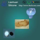 Borracha de silicone líquido LSR para revestimento ou imprimindo padrões na indústria têxtil, peúgas