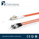 Duplex de 3 metros de cable de fibra óptica multimodo (50/125) LC a FC