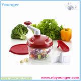 Slicer резца круглого Slicer Mandoline Vegetable с 3 лезвиями нержавеющей стали