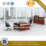 Стол компьютера штата вишни офисной мебели меламина (HX-CRV008)