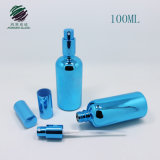 Azul de galvanoplastia UV 100ml frasco vazio com o pulverizador para cosmética