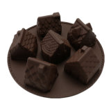 УПРАВЛЕНИЕ ПО САНИТАРНОМУ НАДЗОРУ ЗА КАЧЕСТВОМ ПИЩЕВЫХ ПРОДУКТОВ И МЕДИКАМЕНТОВ аттестует прессформу силикона качества еды материальную, прессформу /Chocolate прессформы пудинга силикона 6PCS 3D домашнюю форменный/прессформу торта силикона