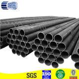 Tubo redondo negro del poste de la cerca del acero de carbón Q195 (20m m)