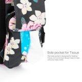 Ретро изолированное перемещение Pockets Backpack ворсистого пеленки мумии с соединением USB