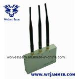 Teléfono celular Jammer con Control Remoto (CDMA, GSM, DCS y 3G)