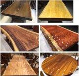 Популярная березовая древесина для таблицы деревянной мебели обедая
