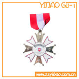 Medaille /Medallion van het Metaal van de douane 3D met Diverse Vorm en Kleur met Sleutelkoord (yb-gg-55)