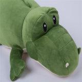 Игрушка крокодила заполненного животного рождества мягкая материальная животная для перемещения