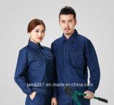 Защитная одежда работы износа джинсыов работы высокого качества голубая в Гуанчжоу