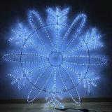 Rond 3Fil 3600 LED lumière LED RVB de corde