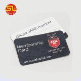 Impressão CMYK Leitor de Smart Card RFID de plástico
