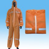 Arbeitskleidungs-Arbeits-Kleidung, die Gesamtoverall, Wegwerfgesamtoverall bearbeitet