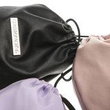Le produit de beauté durable de tissu d'unité centrale de sac d'emballage de vente en gros de mémoire classique de qualité met en sac le sac d'emballage avec le dessus de chaîne de caractères