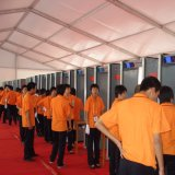 Super caminar a través del sistema de seguridad Detector de metales Xyt LCD2101
