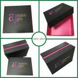 Heißer Folien-Oberseite-und Unterseiten-Papiergeschenk-Kasten
