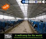 高品質によってカスタマイズされる鉄骨構造の牛舎