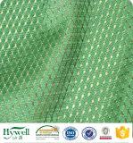 Paños de acoplamiento del poliester que hacen punto de calidad superior que alinean la tela