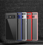 Samsungギャラクシーノート8の新しく細いケースのために懸命に豊富な耐震性の電話カバーを支持しなさい