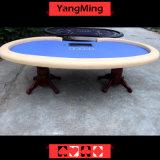 호랑이 다리 (YM-BA11-1)의 공장 가격 그리고 전념된 10명의 선수 카지노 테이블 배치를 가진 카지노 택사스 Holdem 부지깽이 테이블