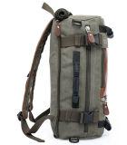 Армии зеленый новой европейской и американской Вмещающему Canvas рюкзак многофункциональный двойной плечевой Canvas Мужчины Женщины дорожная сумка Duffel Pack
