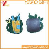 Anello chiave del PVC della gomma molle con le stelle (YB-PK-51)