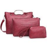 La femme réglée de sac de crocodile met en sac des sacs à main d'achats de fille de sacs de Madame épaule d'unité centrale de qualité de l'usine Sy8617 de la Chine