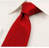 Cravate tissée par jacquard de qualité