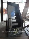 Acrílico negro moderno Stand de exposición (AD-003)