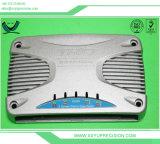 Placa de aluminio profundo agujero sirven de mecanizado CNC de piezas de aluminio mecanizado de precisión