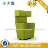 Hotel moderno muebles Patas de metal sofá de cuero (HX-8NR2193)