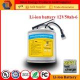 RoHS aprobó la batería de energía solar del fabricante del Li-ion del almacenaje 12V 50ah
