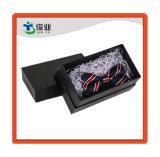Cartera Lazo Negro Caja de cartón envases decorativos/caja de impresión personalizada