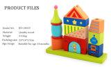 Bloco de madeira feita de blocos de cor de tinta de água de segurança dos brinquedos