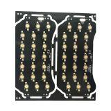 Una cara de placa de circuito de LED de aluminio