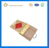 Подарочные коробки бумаги с трос ручки