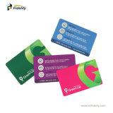 이중 주파수 UHF+MIFARE 1K PVC 스마트 카드, 접근 제한을%s RFID 꼬리표