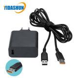 Laptop de uSB-Haven 2A van de Levering van de Macht 65W 20V 3.25A/5.2V met USB aan de Kabel van de Yoga voor Lenovo/IBM