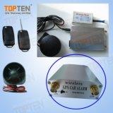 Беспроводной автомобиль GPS Tracker Intruder сигналов тревоги с беспроводной электронной блокировки запуска двигателя (ТК210-JU)