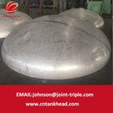 01-07 testa ellittica del serbatoio del contenitore a pressione della testa ASME del piatto dell'acciaio inossidabile 3200mm*12mm